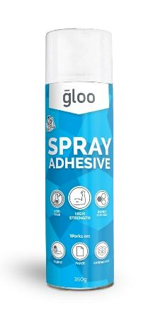 GLOO SPRAY ADHESIVE ACID FREE 350GM #