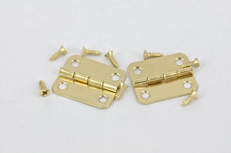 HINGE BRASS #6 GOLD 2 PC #