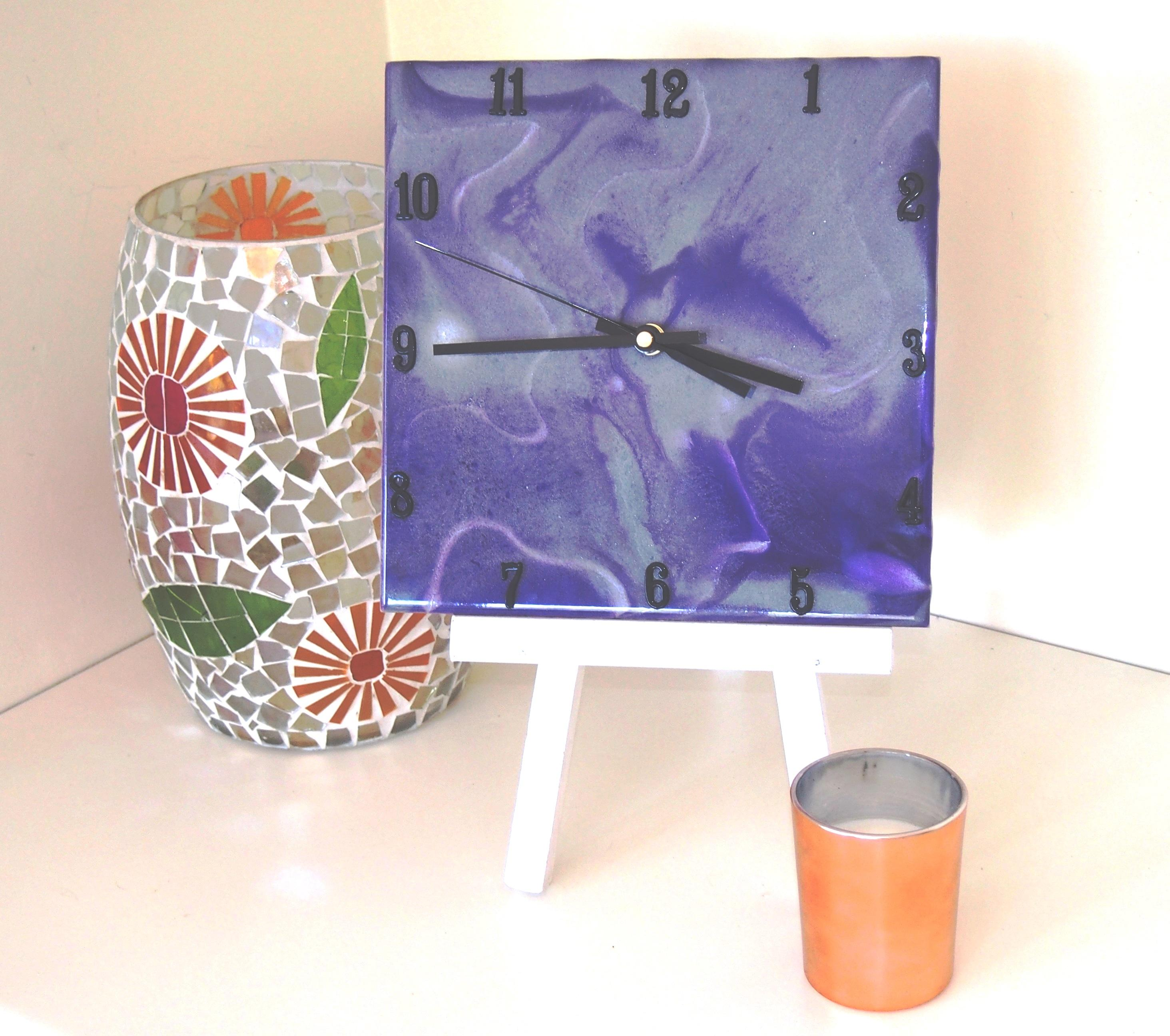 How to: Resin Art Clock