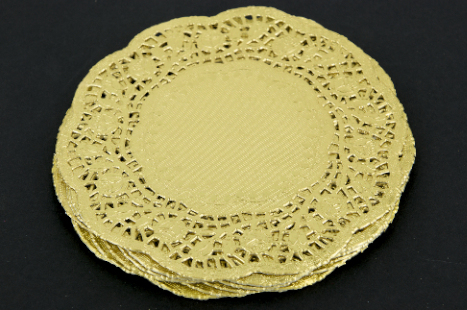PAPER DOILIES GOLD 180mm 50 PC & PAPER DOILIES GOLD 180mm 50 PC - PAPER CHRISTMAS - Product Detail ...