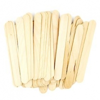 LITTLE WOOD CRAFT STICKS JUMBO NATURAL 60 PC ^ - Click for more info