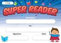 LITTLE CERTIFICATE SUPER READER A5 10 PC - Click for more info