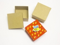 LITTLE PAPER MACHE MINI BOX SQUARE 6 PC - Click for more info