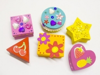 LITTLE PAPER MACHE MINI BOX ASSTD  6 PC - Click for more info