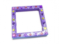 PAPER MACHE OPEN SQUARE 1 PC - Click for more info