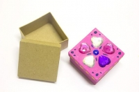 LITTLE PAPER MACHE MINI BOX SQUARE 1 PC - Click for more info