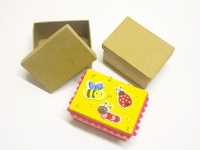 LITTLE PAPER MACHE MINI BOX RECT 1 PC - Click for more info