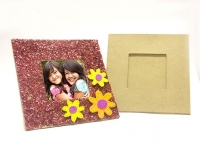 PAPER MACHE SQUARE TABLETOP FRAME 1 PC - Click for more info