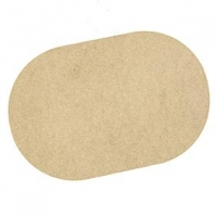 LITTLE WOOD PLACEMAT - OVAL 1 PC - Click for more info