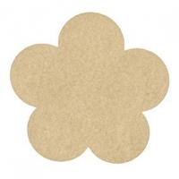 LITTLE WOOD PLACEMAT - FLOWER 1 PC - Click for more info