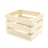LITTLE WOOD CRATE 1 PC - Click for more info