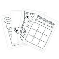 LITTLE PUPIL POCKET ACTIVITY SHEETS GAMES 8 PC - Click for more info