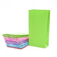 LITTLE PAPER BAG MULTI 90 X 150MM 10 PC ^ - Click for more info