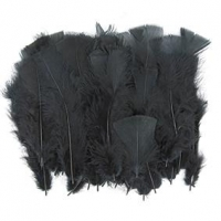 LITTLE FEATHERS TURKEY BLACK 10 GM - Click for more info