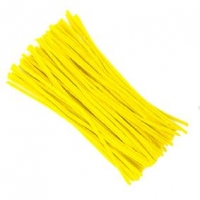 LITTLE CHENILLE STICKS YELLOW 300 X 6mm 100 PC - Click for more info
