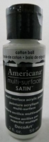 DECOART AMERICANA MULTISURFACE SATIN COTTON BALL 59mL # - Click for more info