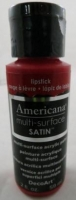 DECOART AMERICANA MULTISURFACE SATIN LIPSTICK 59mL # - Click for more info