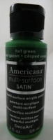DECOART AMERICANA MULTISURFACE SATIN TURF GREEN 59mL # - Click for more info