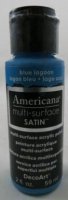 DECOART AMERICANA MULTISURFACE SATIN BLUE LAGOON 59mL # - Click for more info
