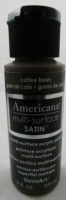 DECOART AMERICANA MULTISURFACE SATIN COFFEE BEAN 59mL # - Click for more info