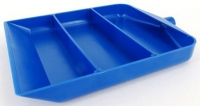 BEADS FUNNEL/SCOOP PLASTIC BLUE 1 PC - Click for more info