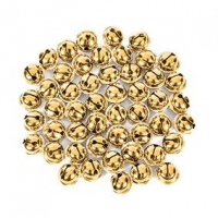 LITTLE BELLS JINGLE GOLD 15MM 50 PC : - Click for more info