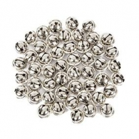 LITTLE BELLS JINGLE SILVER 15MM 50 PC ^ - Click for more info