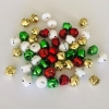 CHRISTMAS JINGLE BELLS 15mm 50 PC - Click for more info