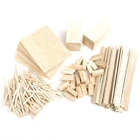 CRAFTSMART BALSA BASICS PACK ASSTD 152 PC # - Click for more info