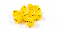 EASTER CHENILLE CHICKS 12 PC - Click for more info