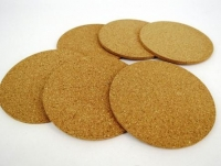 CORK COASTERS 6 PC H/S # - Click for more info