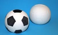 CERAMIC SOCCER BALL MONEY BOX 6 PC/PKT* - Click for more info