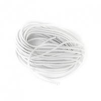 LITTLE ELASTIC ROUND WHITE 2mm 4m - Click for more info