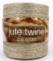 JUTE TWINE FINE 880 TEX (1mm) 570m ## - Click for more info