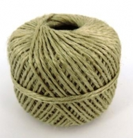 JUTE TWINE FINE 880 TEX 70m - WHITE BOX - Click for more info