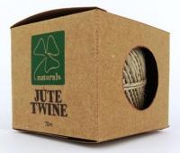 JUTE TWINE FINE 880 TEX 70m (BROWN CRAFT BOX) # - Click for more info