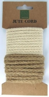 WOVEN JUTE CORD 6mm 2  X 3m # - Click for more info