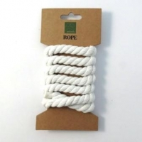 9mm Rope X 1m Bleached White # - Click for more info