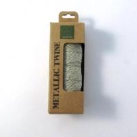 METALLIC TWINE SILVER - 50 M # - Click for more info