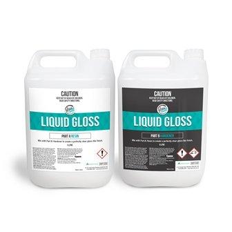 GLASS COAT LIQUID GLOSS 2 X 5 L (10L) # - Click for more info