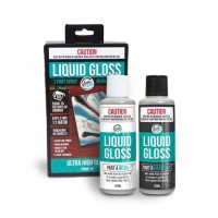 GLASS COAT LIQUID GLOSS SET/2 X 125mL (250mL) # - Click for more info
