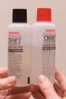GLASS COAT LIQUID GLOSS SET/2 X 125mL (250mL) #