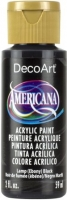 DECOART AMERICANA ACRYLIC LAMP BLACK 59mL - Click for more info