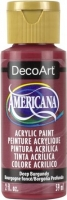 DECOART AMERICANA ACRYLIC DEEP BURGUNDY 59mL - Click for more info