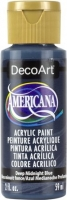 DECOART AMERICANA ACRYLIC DEEP MIDNIGHT BLUE 59mL - Click for more info