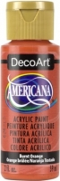 DECOART AMERICANA ACRYLIC BURNT ORANGE 59mL - Click for more info
