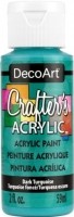 DECOART CRAFTERS ACRYLIC DARK TURQUOISE PAINT 59mL - Click for more info
