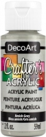 DECOART CRAFTERS ACRYLIC AMISH GREY PAINT 59mL - Click for more info