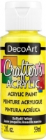 DECOART CRAFTERS ACRYLIC DAFFODIL YELLOW PAINT 59mL - Click for more info
