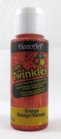 DECOART CRAFT TWINKLES ORANGE 59ML # - Click for more info